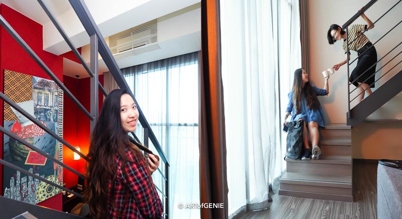 Mercure Hotel Executive Loft for OOTD & BARtistry@ONE22 High Tea