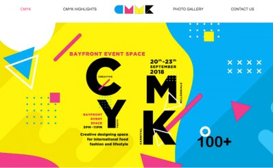 Media coverage for 2018 CMYK event and logo listing on website