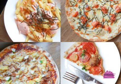DePizza's New 17-pizza menu with Mala spices & Salted Egg flavour familiar to locals
