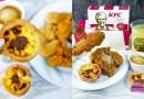 KFC Salted Egg Goldspice Chicken & Chocolate Hazelnut Egg Tart Back for Christmas Season!