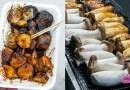 人气90台湾烧烤杏鲍菇KSL夜市 Popular Grilled King Oyster Mushroom at KSL Night Market