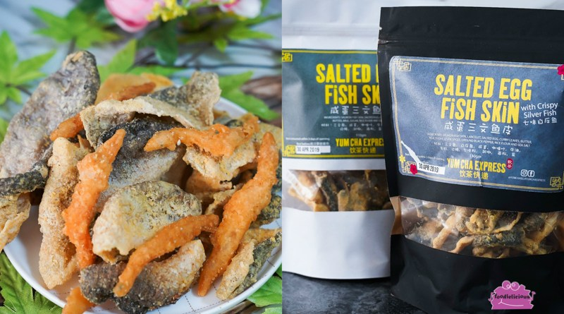 Yum Cha Express CNY Salted Egg Fish Skin with Silver Fish promo