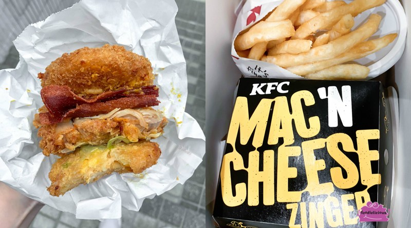 KFC Fried Mac 'N Cheese Zinger Burger promo – A Legendary Twist