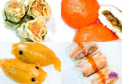 Yum Cha CNY Dim Sum with Smoked Duck Buns & Fish-shaped Dumplings