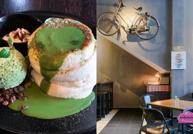 The Old Mark Cafe – Fluffy Matcha Souffle Pancakes in Melaka