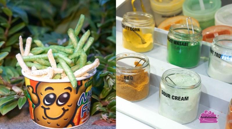 Potato Corner –Filipino Flavoured Fries with Truffle, Wasabi, Corn & BBQ at Jewel Changi Airport