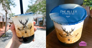 The Alley 鹿角巷 Famous Taiwanese Bubble Tea in Malaysia & Singapore's Jewel Changi Airport
