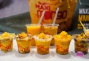 Maxi Mango – Famous Philippines Mango Soft Serve with Yam, Cheese, Coconut or Graham toppings