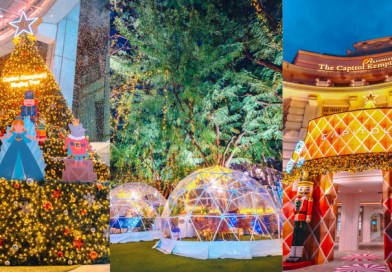 Capitol Singapore and CHIJMES – Christmas Celebration with Whimsical Domes, Light Shows & Holiday Workshops