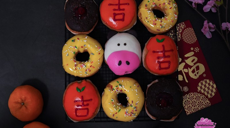 Krispy Kreme CNY – Adorable Cow-shaped Doughnut with Cookie Butter filling