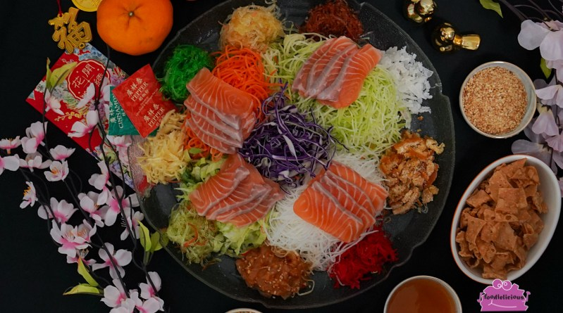 Suki Group of Restaurants – CNY Salmon Yu Sheng, Homemade Taro Cake & Treasure Pot for home delivery