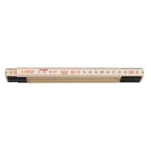 Vouwduimstok hout 2m H 2/10