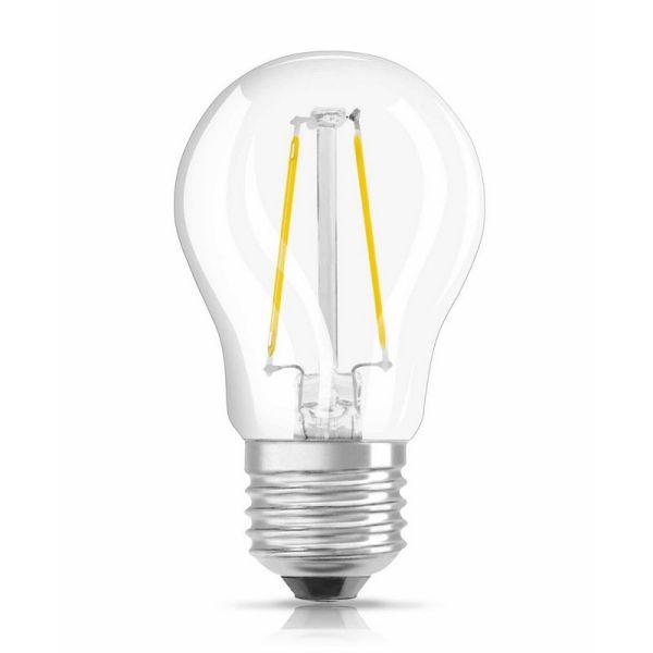 Osram LED retrofit kleine bol E27 2,8W warm wit dimbaar vervangt 25W
