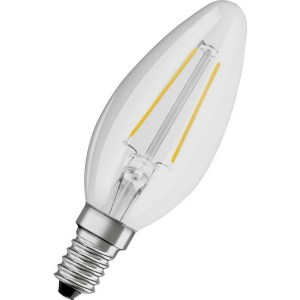 Osram LED kaarslamp E14 5W warm wit vervangt 40W dimbaar