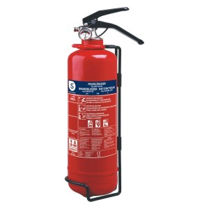 Smartwares brandblusser poeder, 2KG, ABC, BB2 rood
