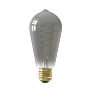CALEX LED FULLGLASS FLEX FILAMENTRUSTIK LAMP 220-240V4W 100LM E27 S