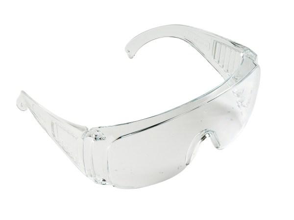 Veiligheidsbril transparant universeel montuur.