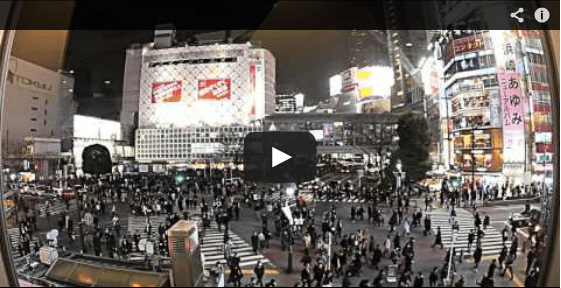 Time Lapse Asia Video Shibuya Crossing Timelapse Video photo ooaworld
