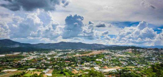 View dalat vietnam