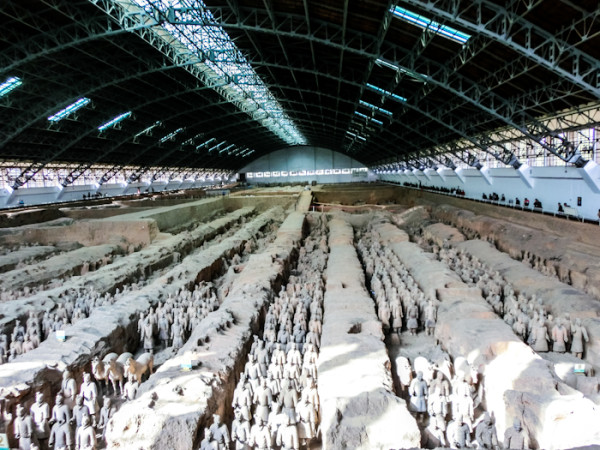 Xian Terra Cotta Warriors China photo rolling coconut ooaworld