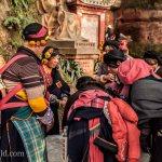 Tibetan women Chengdu Shi,