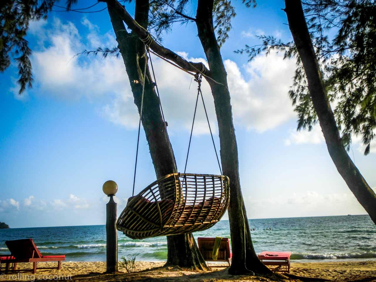 Otres Beach Chair Cambodia