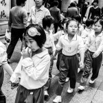 school girls in full bloom Guangzhou China