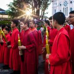 Easter Procession starting at Baguio Cathedral- ooaworld Photo taken in Baguio,