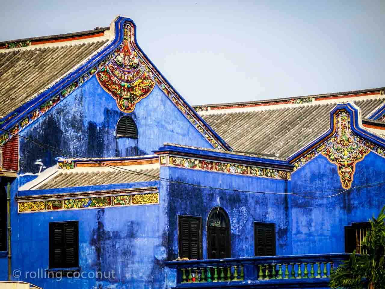 Cheong Fat Tze Mansion Georgetown Malaysia