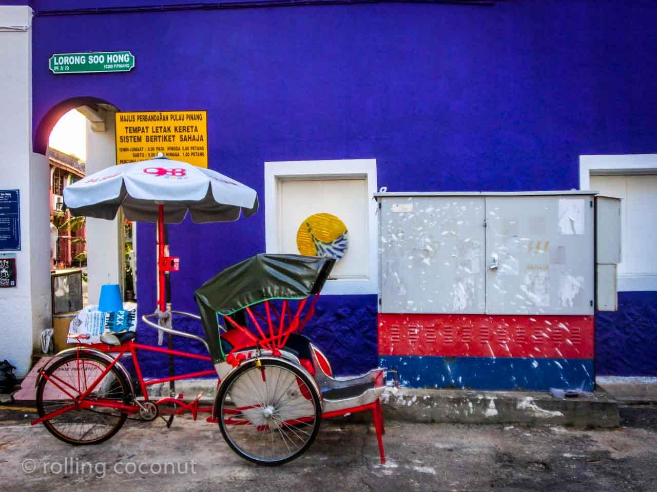 colorful georgetown malaysia