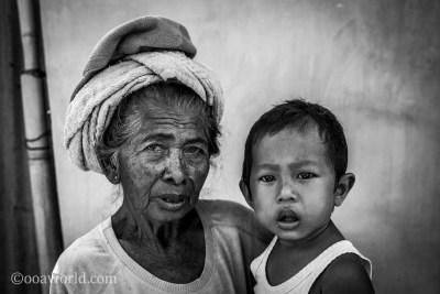 Balinese Grandmother Baby