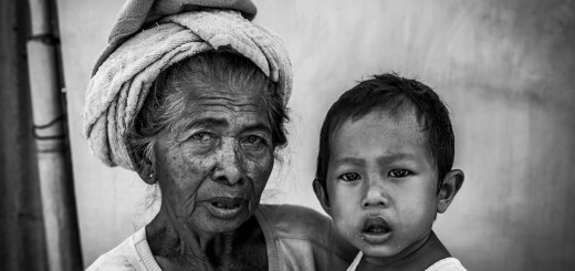 Balinese Grandmother Baby