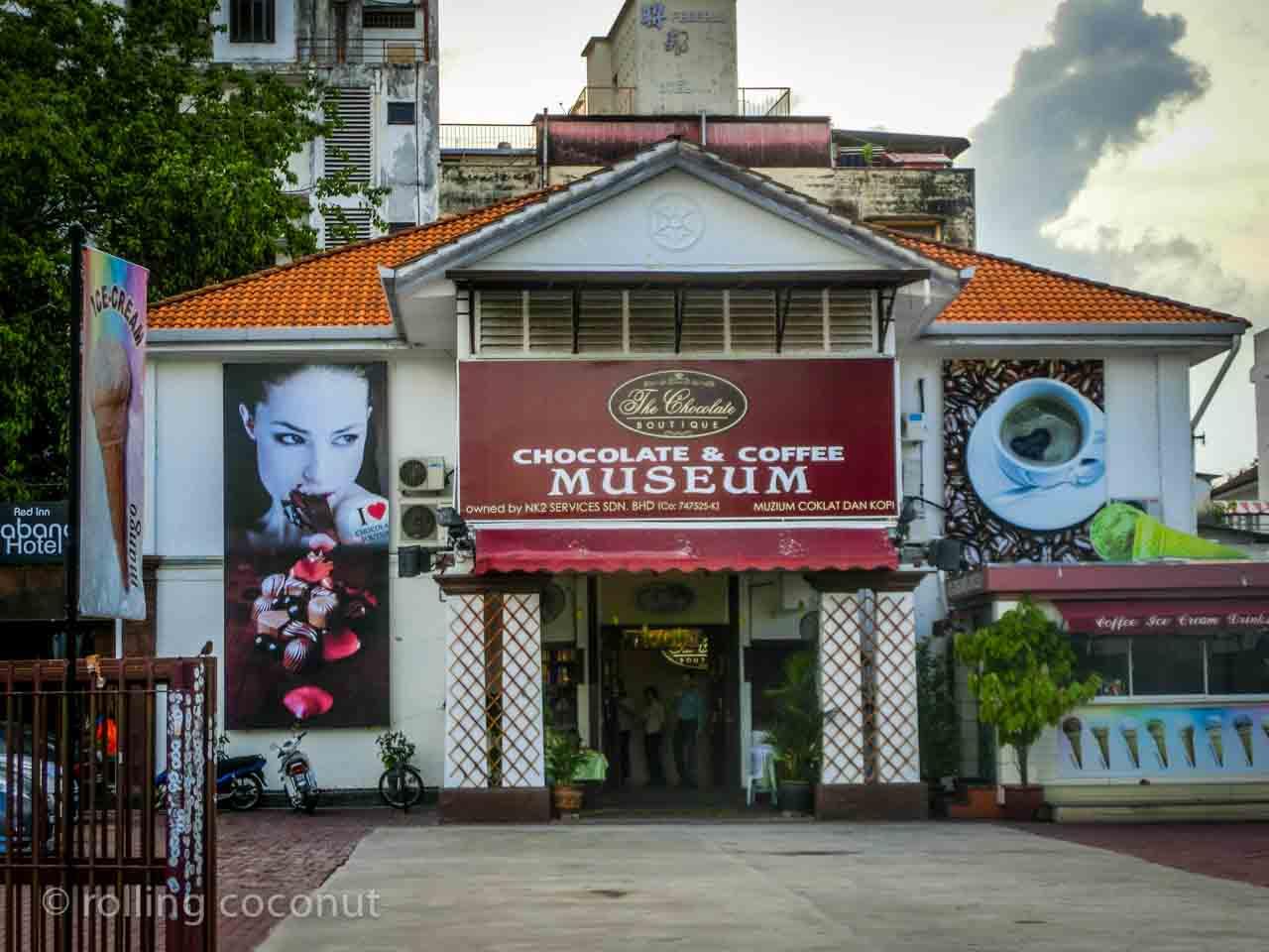 Chocolate Coffee Museum Georgetown Malaysia