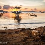 Dog Beach Sunset El Nido Palawan Philippines