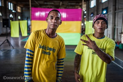 Iwahig Prison Dancing Inmates Puerto Princesa Philippines