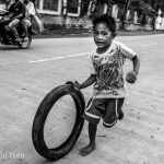 Rolling Tire El Nido Palawan Philippines