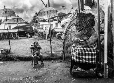Bali Gods versus Boy photo Ooaworld
