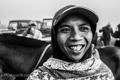 Photo Horserider Portrait Mount Bromo Indonesia Ooaworld