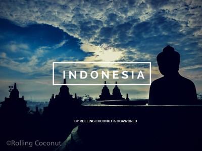 Photo Indonesia Travel Ooaworld Rolling Coconut Ooaworld
