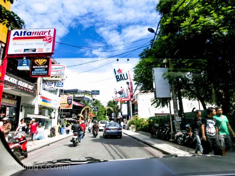 Jalan Legian Bali Indonesia photo Ooaworld