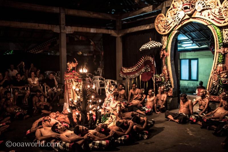 Kecake Fire Dance Body Circle Ubud Bali Indonesia photo Ooaworld