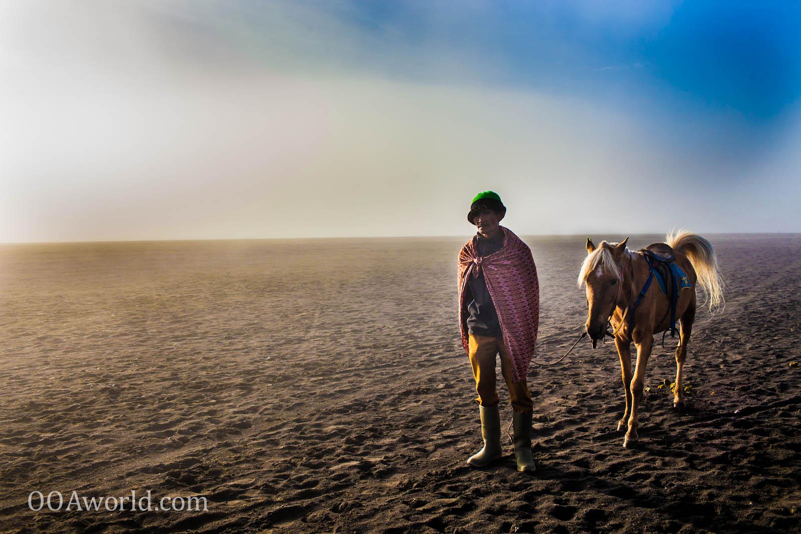 Photo Lonesome Cowboy Bromo Indonesia Ooaworld