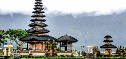 Pura Ulun Danu Bratan Bali Indonesia photo Ooaworld