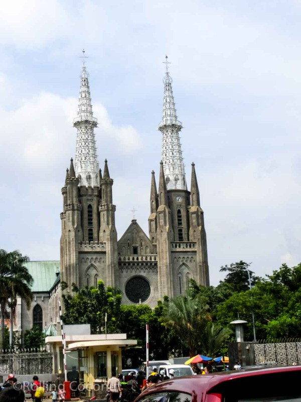 Jakarta Cathedral Indonesia Photo Ooaworld
