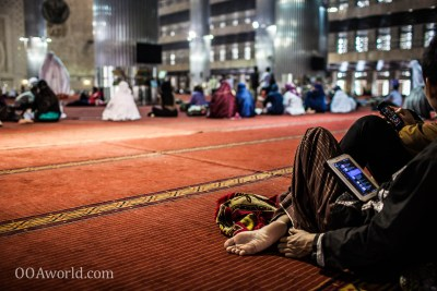 Jakarta Mosque Technology Photo Ooaworld