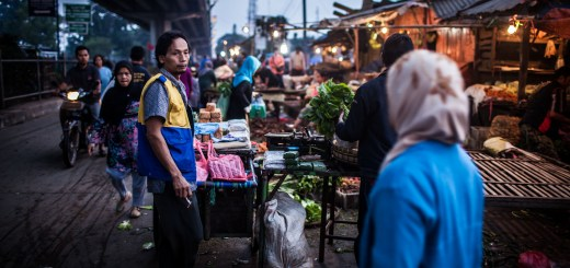 Morning Market Lost Thoughts Bandung Indonesia Photo Ooaworld