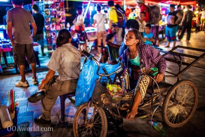 Vientiane Night Market Photo Ooaworld
