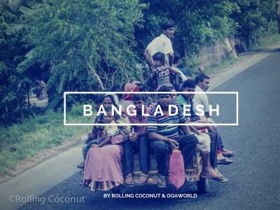 Bangladesh Travel Ooaworld Rolling Coconut Photo Ooaworld