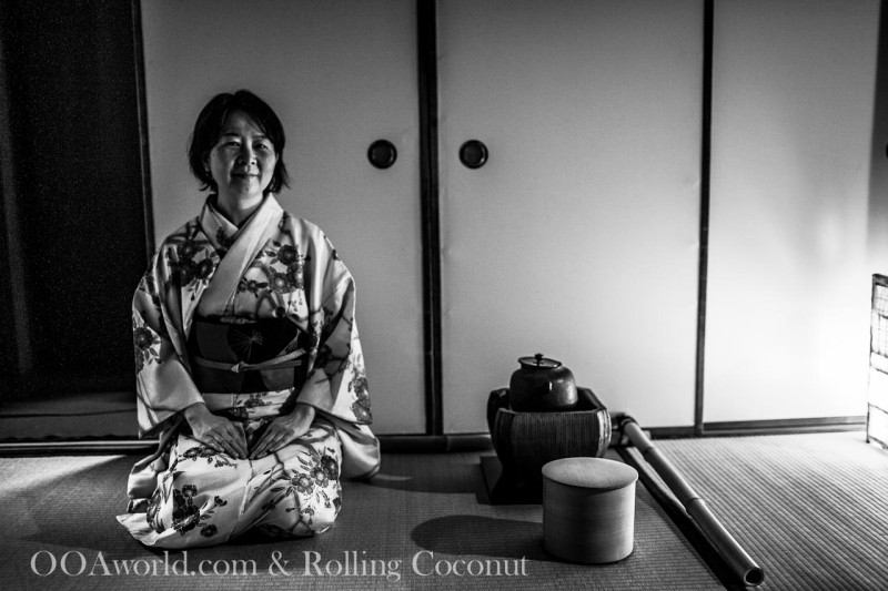 Learning about the intricacies of the tea ceremony Photo Ooaworld