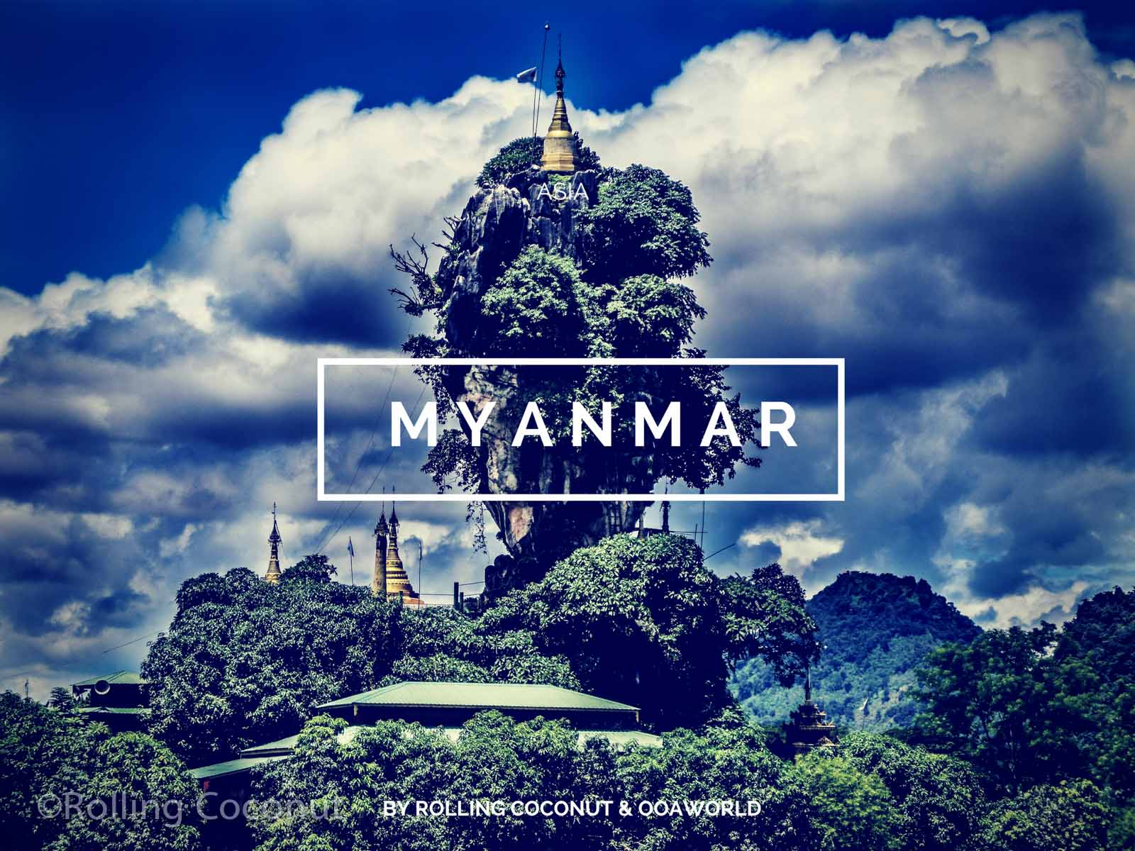 Myanmar Travel Ooaworld Rolling Coconut Photo Ooaworld